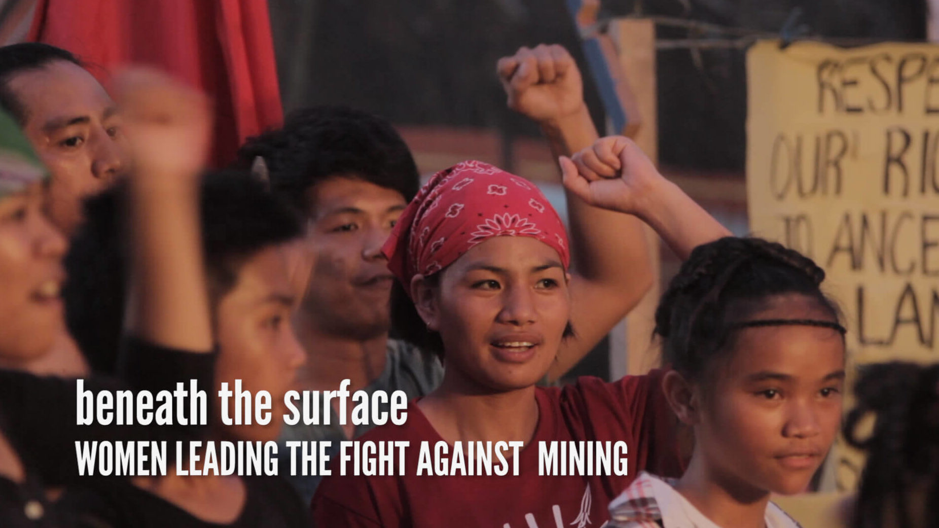 Beneath the Surface: Women Lead the Fight Against Mining