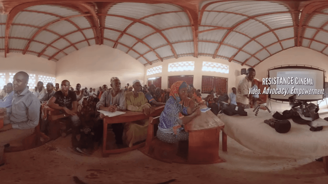 Resistance Cinema: Experimentation with VR for Grassroots Advocacy