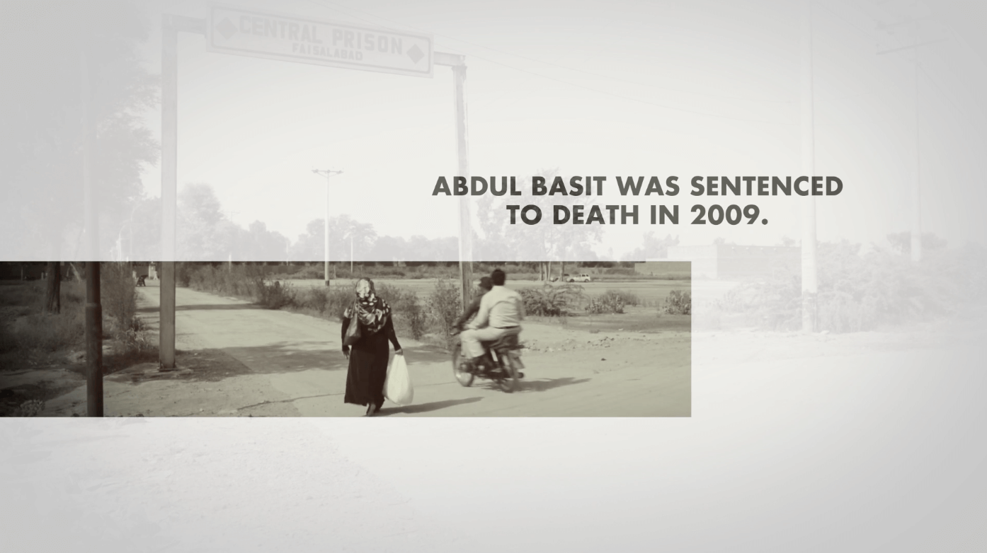 Bring it Back: Abdul Basit's Story of Being Disabled on Pakistan's Death Row