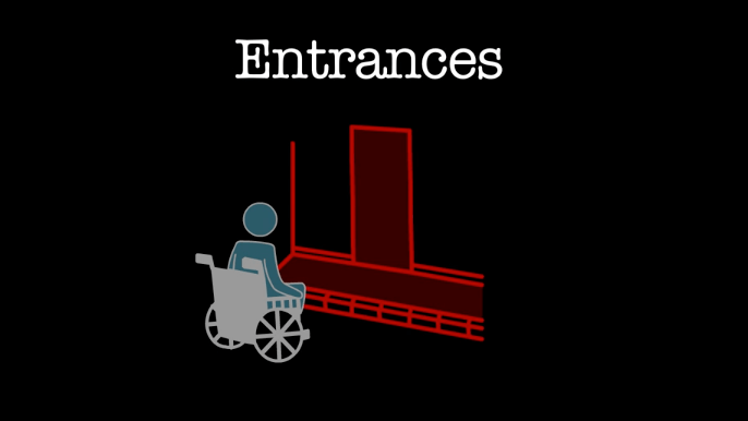 Access for All: Accessibility to Entrances